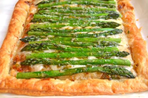 aspargus tart