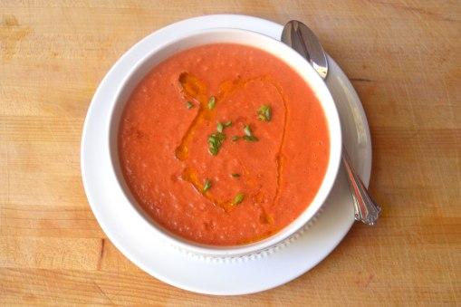 classic red gazpacho