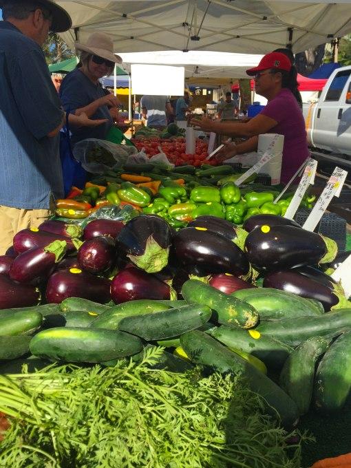 farmers market cucumbers
