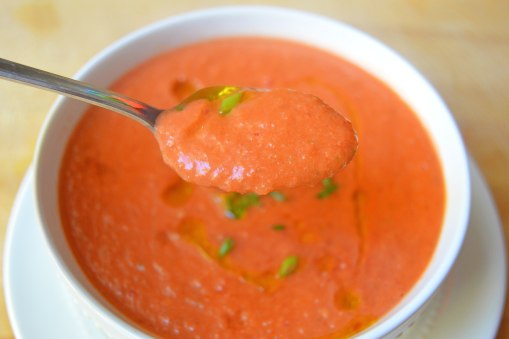 spoonful gazpacho