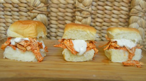 Three Hot Wing Sliders
