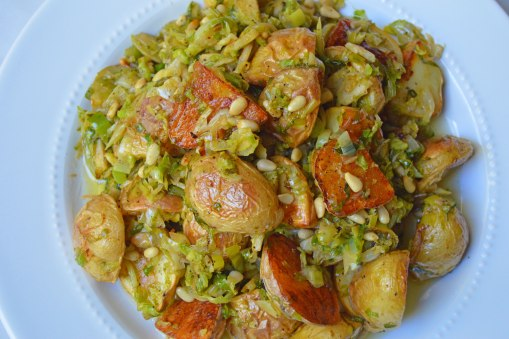 brussels and potatoes